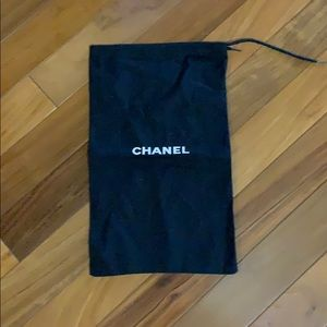 Authentic Chanel dust jacket